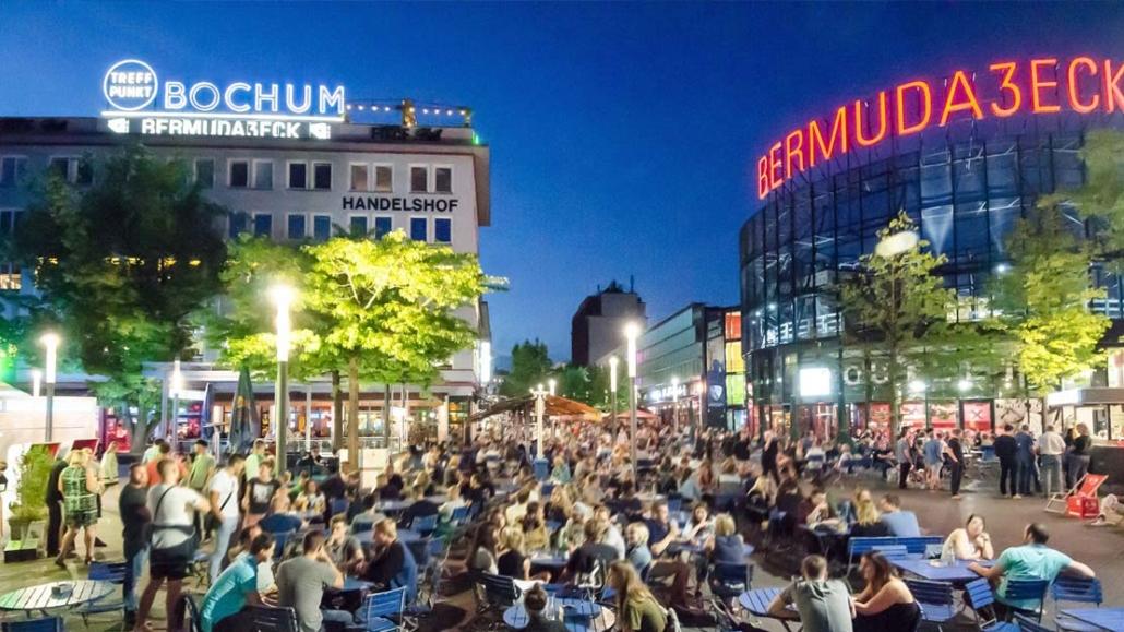 Bermuda3Eck / Bildnachweis: Stadt Bochum, Pressestelle
